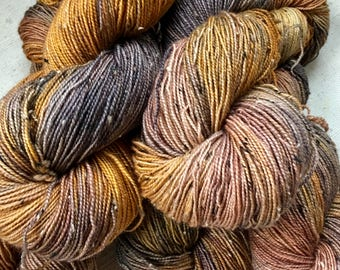 A Day In A Life...January 26, 2017 - Hand dyed on Tweed Fingering