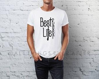 JW | Best Life Ever | Men's Tee Shirt | Pioneer School Gift | Pioneer gift | JW | SKE Gift Present Jw Org ske Unisex Shirt