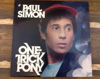 Paul Simon One-Trick Pony Vintage Vinyl Record LP 1980