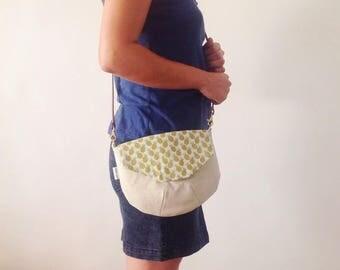 Bag with flap - handbag