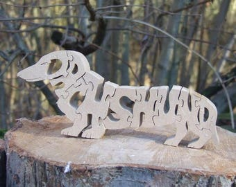 dachshund, wooden Dachshund, Dachshund gift, Dachshund ornament, Dachshund memorial, unique dog gift, dog breed gift, wooden dog gift