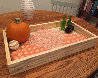 Handmade Wooden Serving Tray