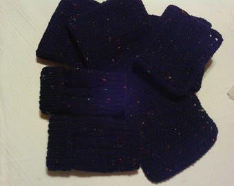 Navy tweed 2piece