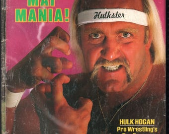 Vintage Magazine - Sports Illustrated : April 29, 1985 - Hulk Hogan