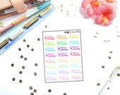 Mamas Minis - Hello Monday Doodle Stickers | Perfect for any planner | Travelers Notebooks