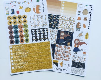 Mini Happy Planner Weekly Kit Autumn - Fall