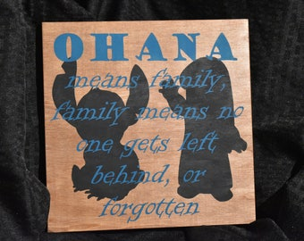 O'hana Wood Sign