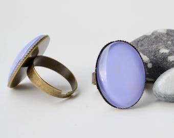 Ring Bronze Cabochon