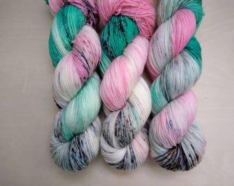 AT THE HOP Hand Dyed Superwash Merino Yarn! (Various Bases)