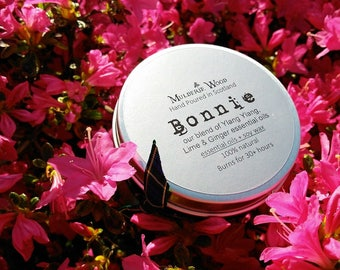 Bonnie Ylang Ylang Essential Oil Natural Soy Wax Aromatherapy Candle