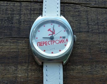 Rare ladies watches,  collectible watches, gold-plated watches, miniature watches, small watches, USSR watches