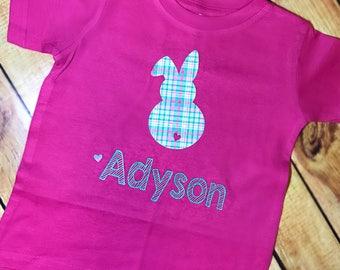 Youth Easter Shirt ~ Girl's Bunny Shirt ~ Easter Tee