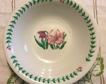 SALE Floral Vegetable Bowl.