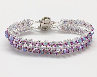 Double Strand Crystal Bracelet