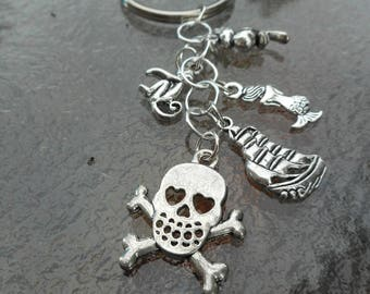 Movie: Pirates of the Caribbean Keychain