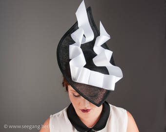 Black Headpiece Derby Ascot Mebourne