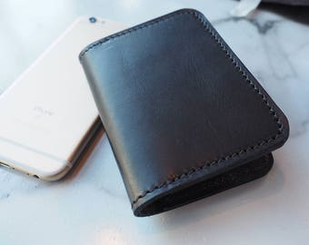 Leather Business Card Wallet | Leather Card Wallet | Handmade Card Holder | Leather Card Case | Minimalist Wallet | Front Pocket Wallet