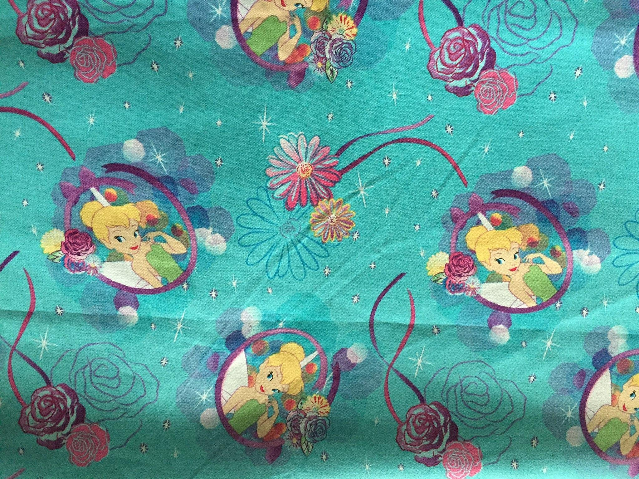 Tinker Bell Lined Placemat Bowl Mitt Hot Pad Matching