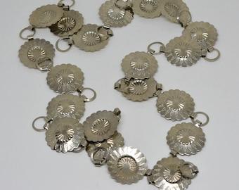 Lovely silver tone belt