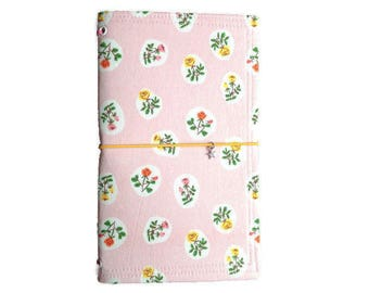 Fauxdori Cover Gifts Under 50 Gifts for Her Travelers Notebook Floral Fauxdori Bullet Journal Fabric Midori Journal Cover Midori Cover BELLA