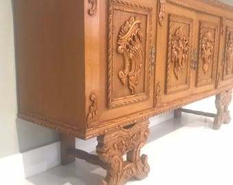Commode baroque etsy - Commode buffet design ...