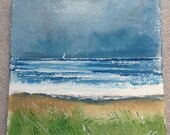 Cornish coastal art, seas...