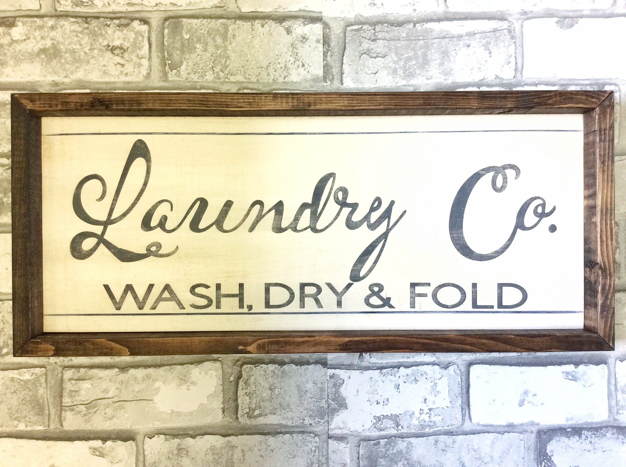 Nice Laundry Wall Decor Image Collection - Wall Art Collections ...