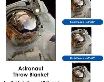 Astronaut- Throw Blanket
