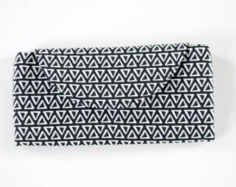 Womens Wallet - Folding Wallet - Black and White Wallet - Slim Wallet - Large Wallet - Cellphone Holder - Card Holder - Handmade Wallet