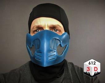 Sub Zero Mask - Mortal Kombat Inspired
