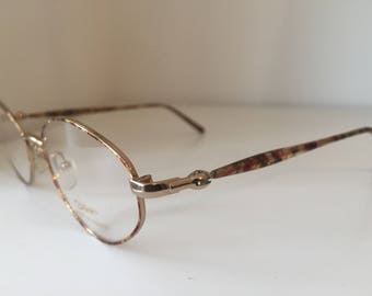 1980's Women's Multicoloured Vintage Frame, Eyewear, Spectacles/Glasses