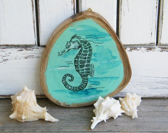 High Quality Sale Nautical Art, Seahorse Print, Sea Life Wall Art, Bathroom Decor,  Farmhouse