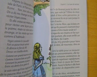 Bookmark Alice Wonderland country