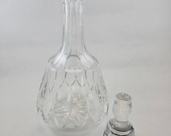Vintage Cut Crystal Decanter