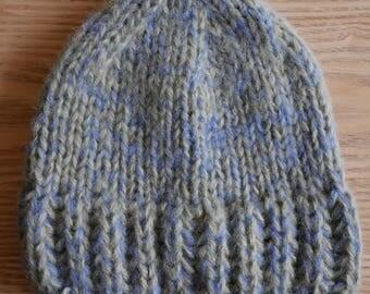 Green Blue Bonnet