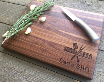 Cutting board, Grill Master, Fathers Day Grilling, Personalized Grilling, Gifts for Him, Fathers day gift, Grilling Gift