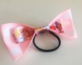 Princess Pink Bow Elastic