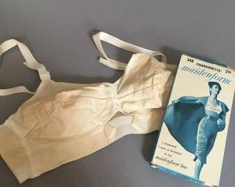 1950s or 1960s bullet bra in original box NOS