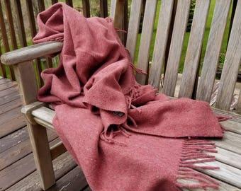 Alpaca Pendleton Blanket Throw