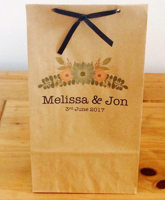 Personalised Wedding Gift Bags Uk : Personalised Gift Bags/Gift Bags with Ribbon. Wedding/Hen Party/Gifts ...