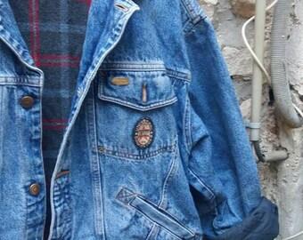 Oversized/loose accomplices vintage denim jacket