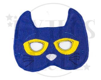 Blue Cat Mask