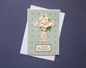 Baptism Card  FREE SHIPPING