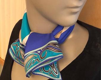 Emilio Pucci silk Emilio Pucci silk scarf vintage scarf