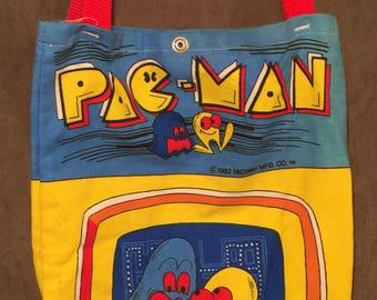 Vintage 1982 Pac Man Tote Bag