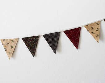 Gooseberry Lane Mini Fabric Bunting