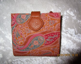 Lady's Paisley Wallet
