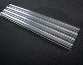 Custom Length Glass Drinking Straw Set - Regular 9.5mm Straws 2 PC.