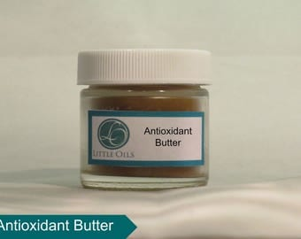 Antioxidant Butter, 1 oz, All Natural, Shea Butter, Cocoa Butter, Kombo Butter, Avocado Oil, Natural UV Protection, Moisturizer, Anti-Aging
