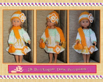Clothes dolls 32/33 cm sweethearts, Word reina Las amigas, Little darling